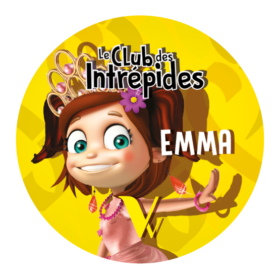 Badge Emma Club des intrepides